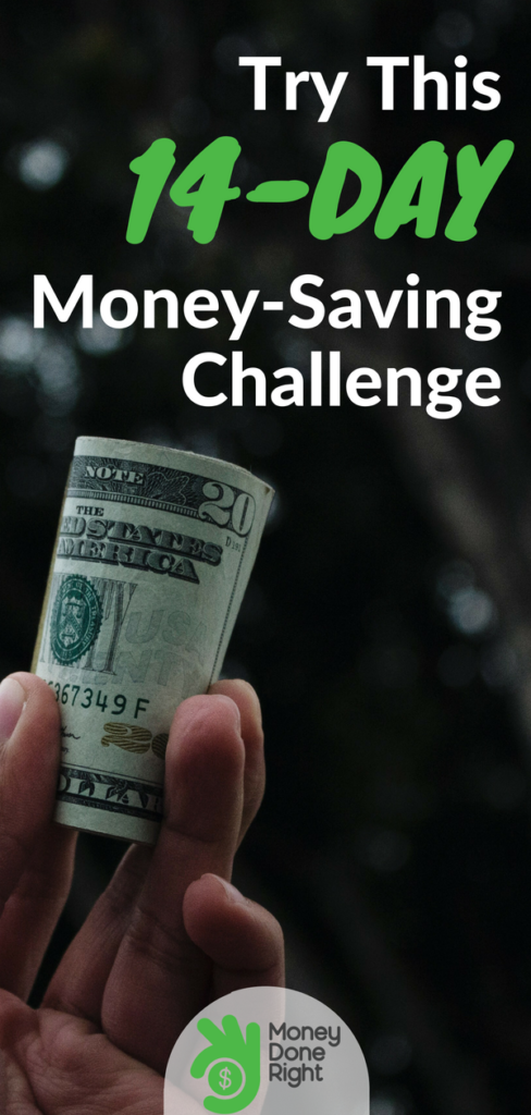 We've created a 14-day money saving challenge with super simple steps that will help you earn extra cash. Check it out. | #savemoney #personalfinance #challenge #finances
