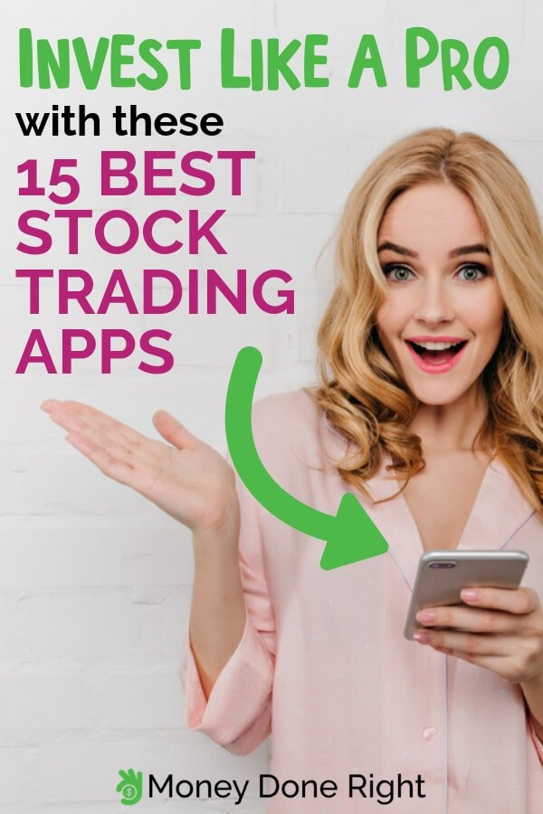 Whether you just started trading stocks or been doing it for a while now, here are the best stock trading apps that you should try today to start trading like a pro. #tradelikeapro #stocktradingapps
