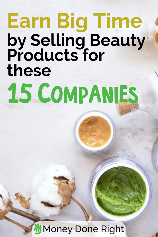 Earning full-time on selling beauty products could be hard however, we've listed top companies who you can sell for, and earn substantially. #sellingbeautyproducts #topcompaniestosell