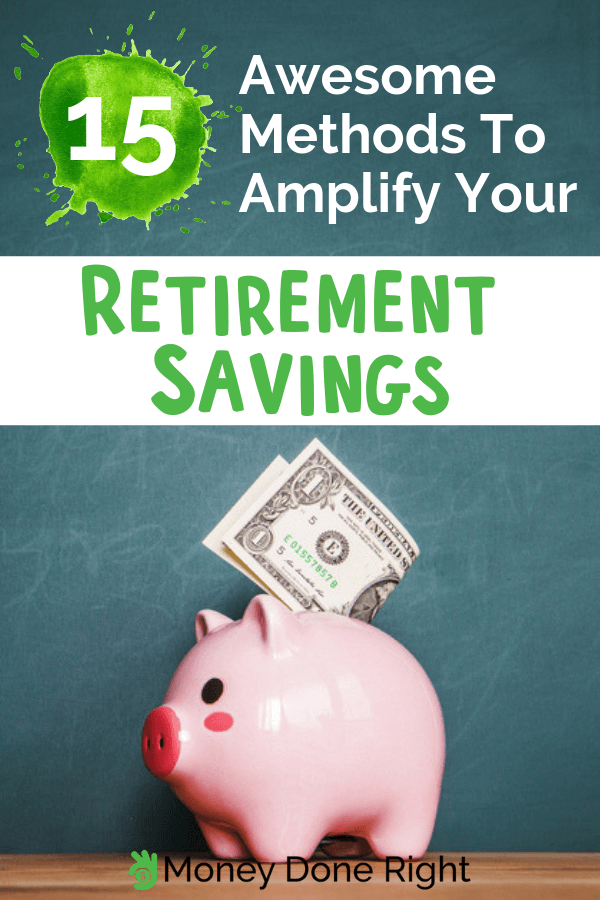 Worry no more about your retirement, by boosting your retirement savings today. #boostsavings #retirementsavings