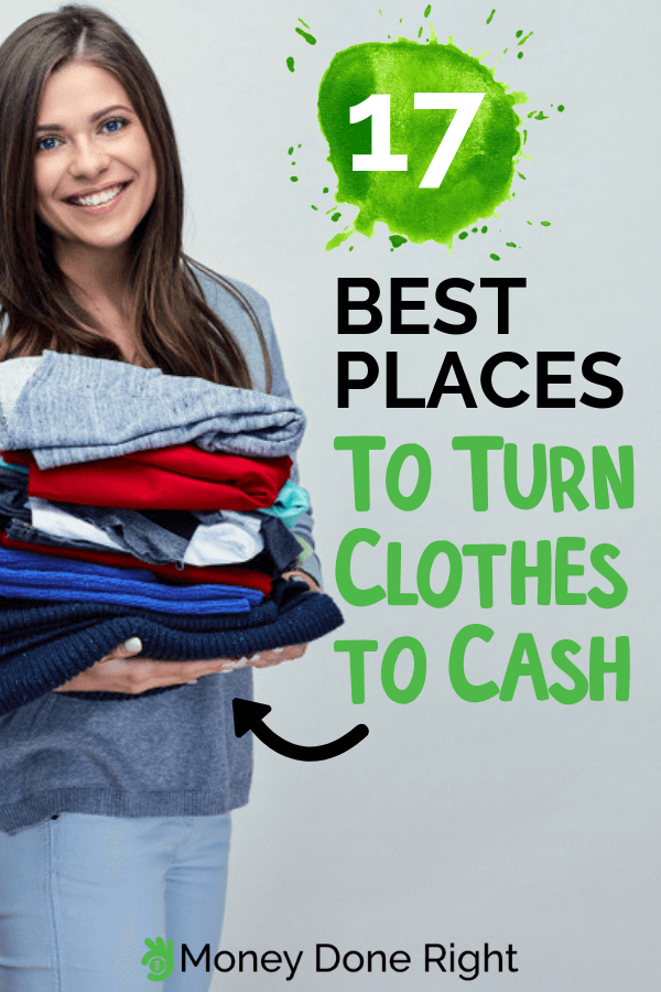 Have you ran out of space for new clothes and want to discard your old ones? Why not make money out of it and sell it to these different places. #makemoneyoutofclothes #sellclothes