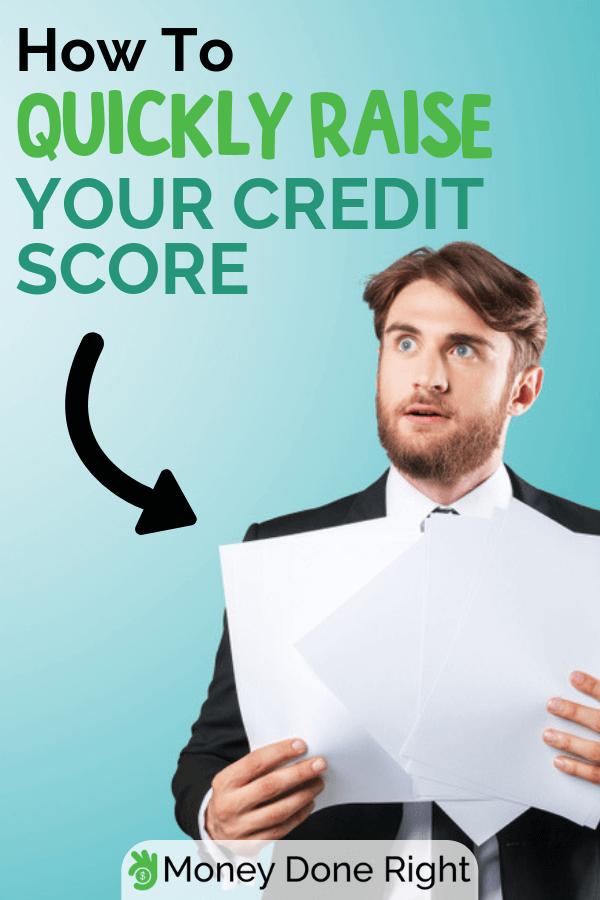 Do you have a low credit score? Do you want it to improve quickly? No problem! Increase your credit score with these amazing ways. #improvecreditscore #increasecreditscore