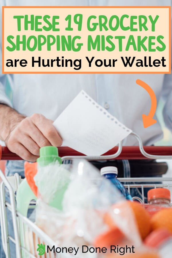 There are a lot of different marketing strategies on groceries that instead of saving, let you end up spending more. Here's a list of mistakes you should avoid when shopping for groceries. #avoidshoppingmistakes #shoppingmistakes