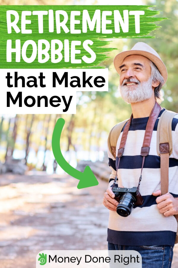 Retirement doesn't mean that you can't earn anymore. There are different retirement hobbies that allows you to earn money. Here's a guide on how to do it. #retirementhobbies #makemoneyretired