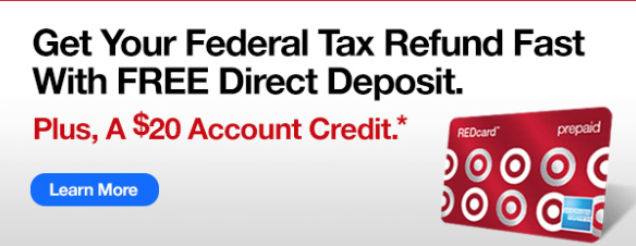 Target Tax Refund Card