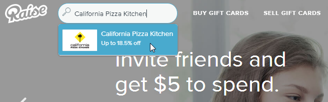 California Pizza Kitchen Discount