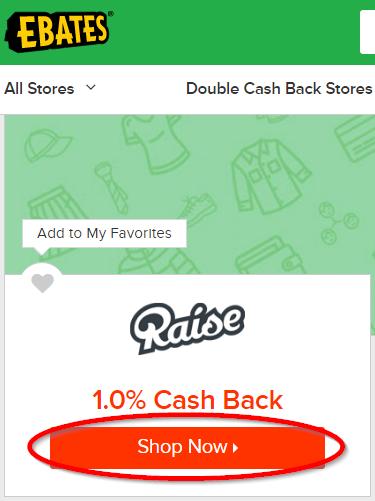Raise Shop Now