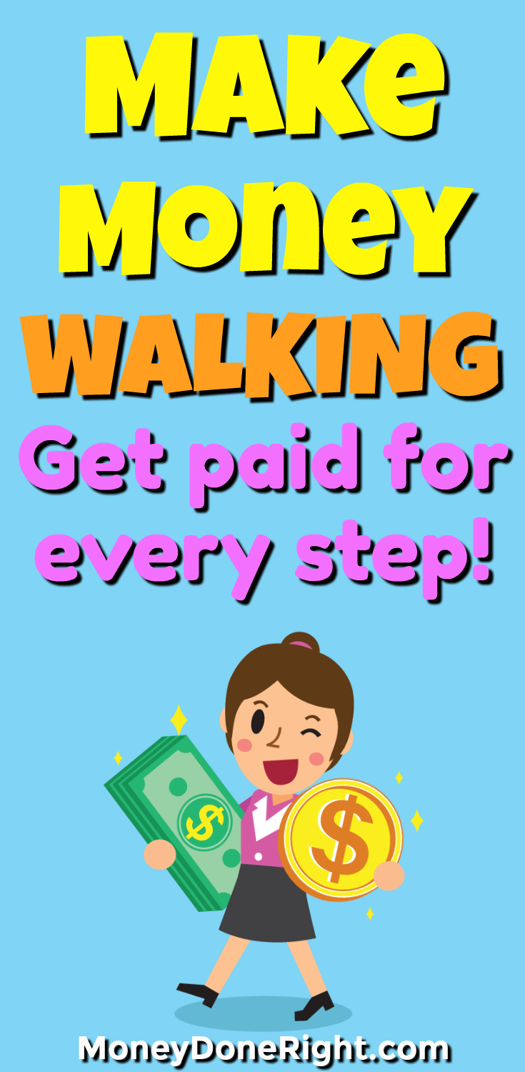 Yes, you can make money for walking! There is a new, 100% free app that you can download on your phone that will pay you for every step you take. If you are looking to become more active, lose weight, or just lead a healthier lifestyle, then this is the money-making app for you!