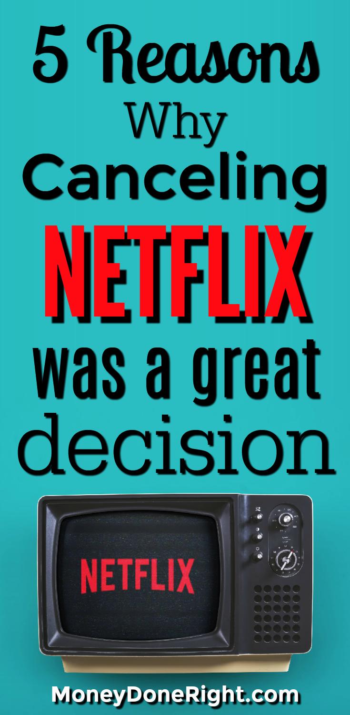 Cancel Netflix | Should I Cancel Netflix | Get Rid of Netflix | Should I Get Rid of Netflix