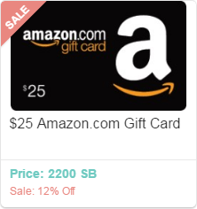 Discount Amazon Gift Cards