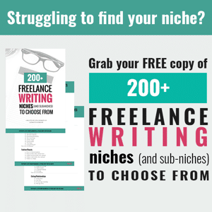 Freelance Writing Niches and Sub-Niches