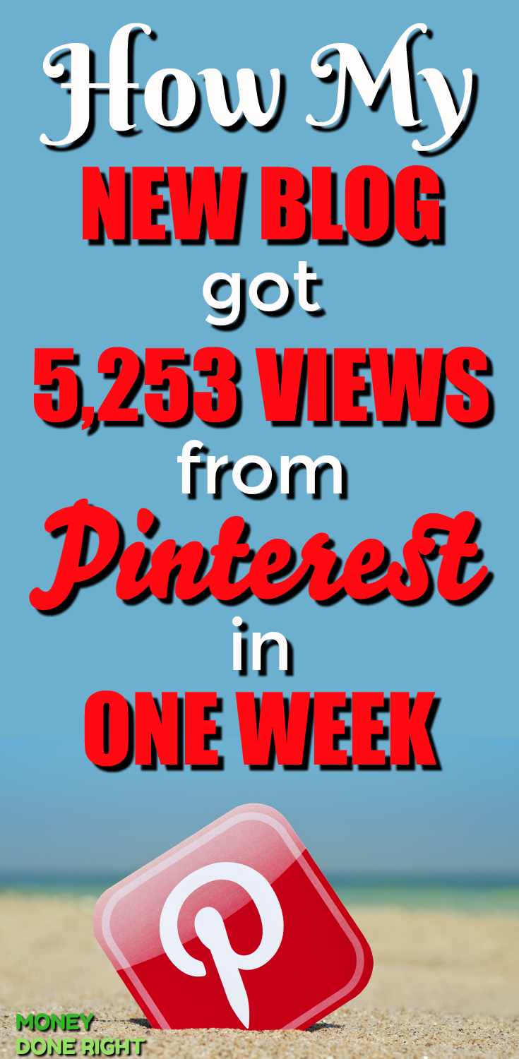 Pinterest is an incredible tool for driving traffic to your blog. I was able to get many pageviews from Pinterest to my new blog. If you'd like to learn how you can use Pintereest to drive traffic to your blog, be sure to check out this article! In it I give 9 tips on using Pinterest to drive visitors to your website. These Pinterest tricks, tips, and hacks will grow your traffic like nothing else. Check them out!