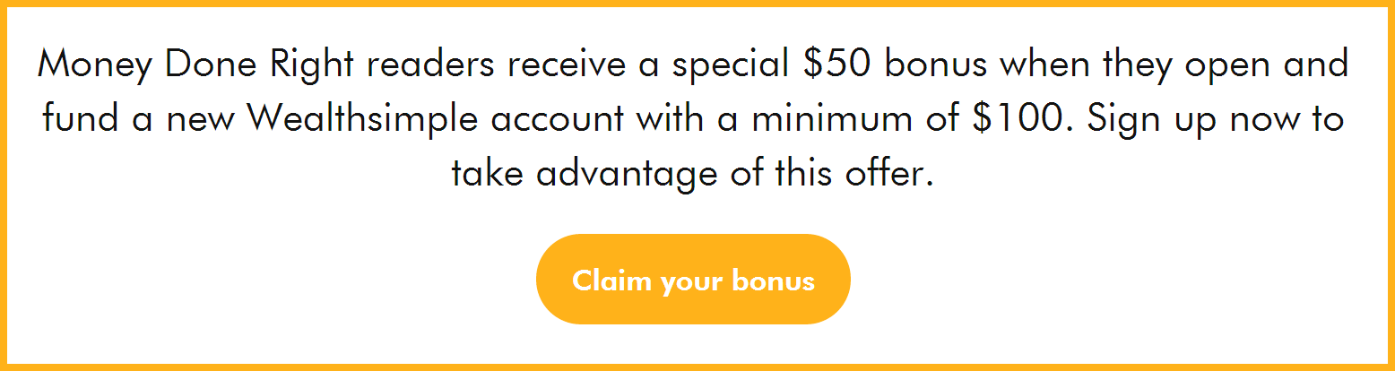 WealthSimple $50 Account Bonus