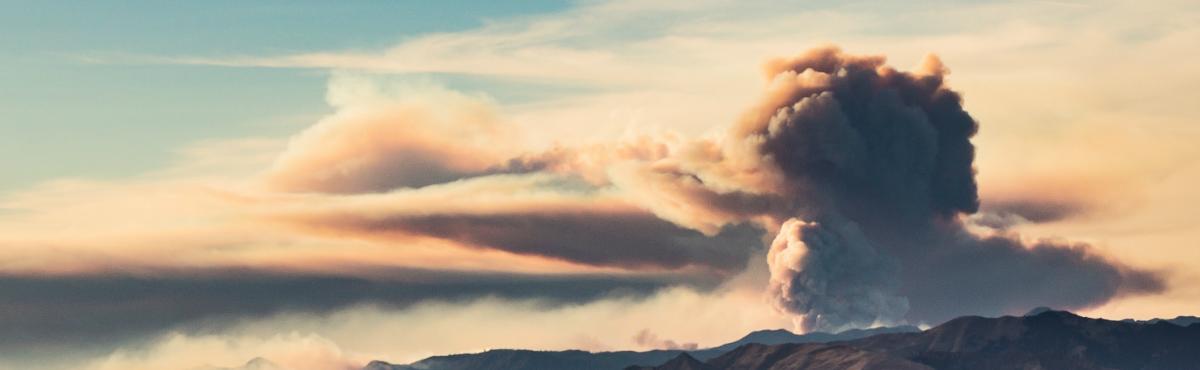 Southern California Thomas Fire Wildfire