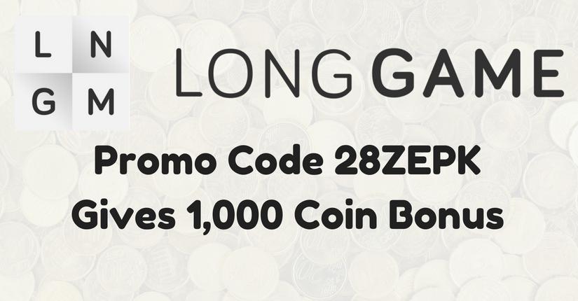 Long Game Promo Code