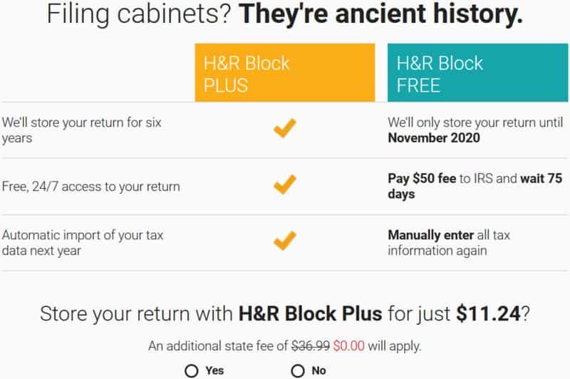H&R Block Plus