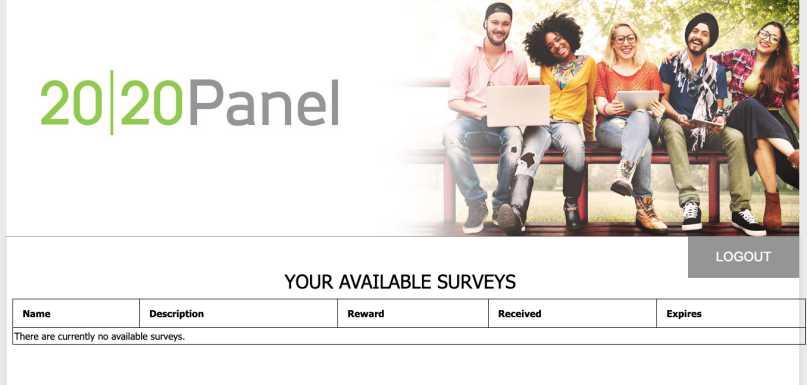 2020 Panel Review - Surveys