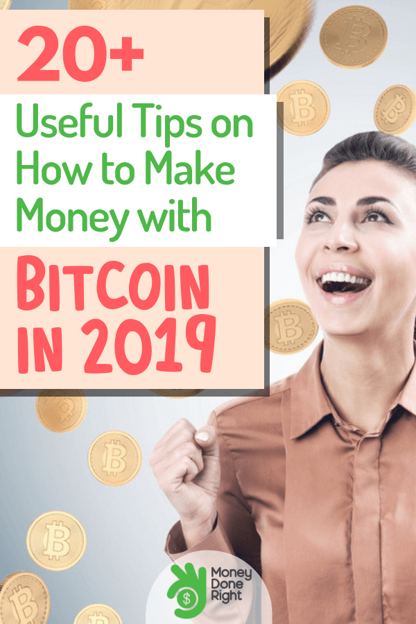 2019 holds a lot of opportunities for you, including making money with bitcoin. Yes, you heard that right. We can help you navigate your way so you can start earning money through bitcoin. #bitcoin #earnmoneywithbitcoin