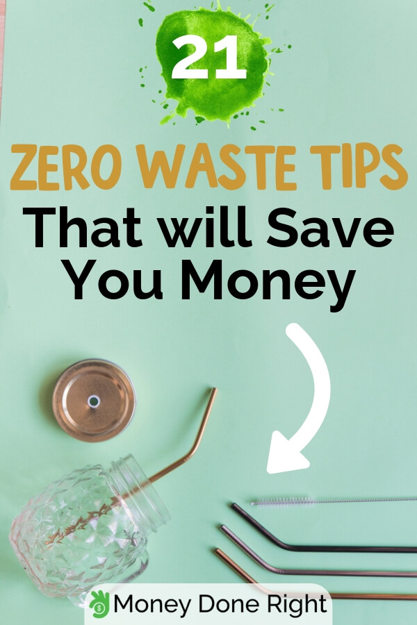 More and more people are being aware of climate change, and how it would affects us if we don't do something. Here are some tips to achieve zero waste and save a lot of money. #zerowastetips #savemoneynowaste
