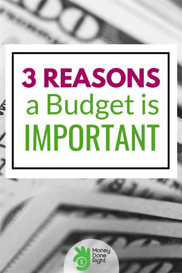 A budget is important and needless to say keeping one can help you improve your financial situation and build the four pillars of financial success. #budget #reasonstokeepabudget