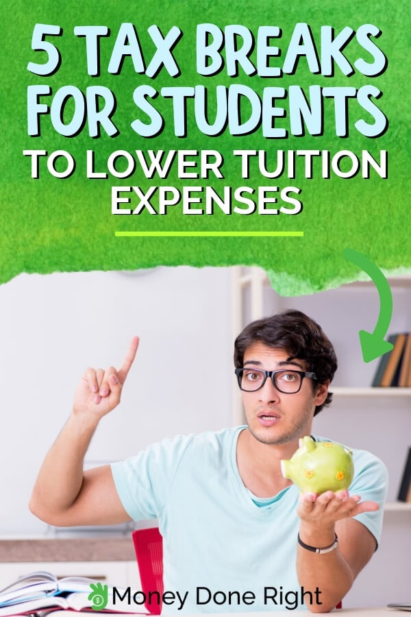 College tuition fee is already costly and as a student you would need all the help you can get to assist you financially. So here are the top 5 tax breaks for students that would help lower tuition expenses. #lowertuition #taxbreaks