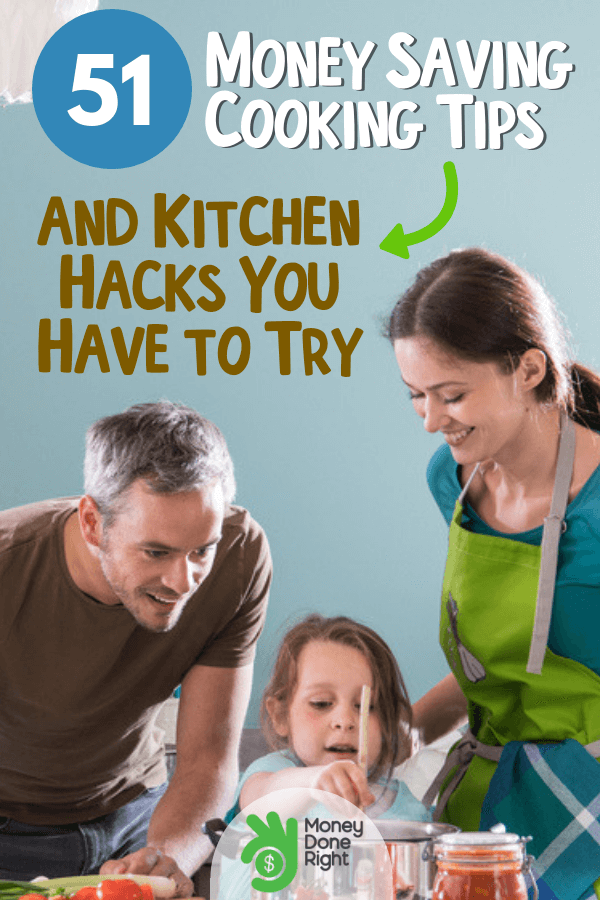 Check these 51 awesome money saving cooking tips and hacks. A must-try for everyone. #cookingtips #kitchenhacks
