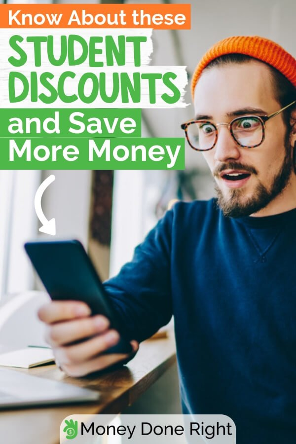 As a student, you need to save as much money as possible. To do that, you'd need a little bit of help. With this list of top student discounts, you have the advantage of saving a lot of your money as a student. #studentdiscounts #studentsavemoney