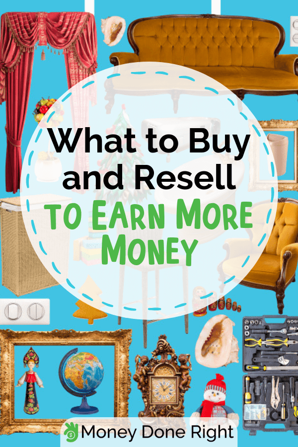 If you want to start reselling, it's nice to know the things that would definitely sell for more. We've rounded up the best things to buy and resell for you. #bestthingstoresell #sellformore