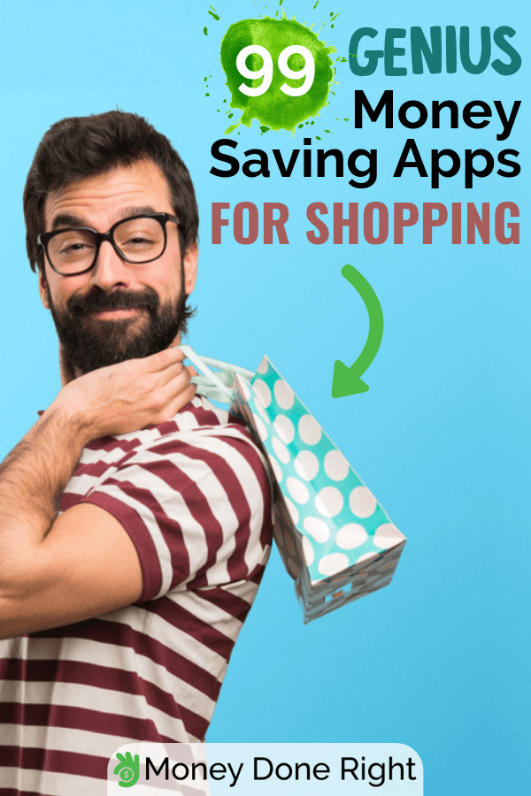 Looking for an app that can help you save a lot of money on shopping? Look no further. Here are 99 excellent money saving apps for shopping. #moneysavingapp #saveonshopping