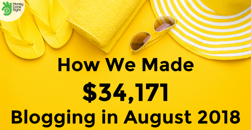 Blog Income Report August 2018