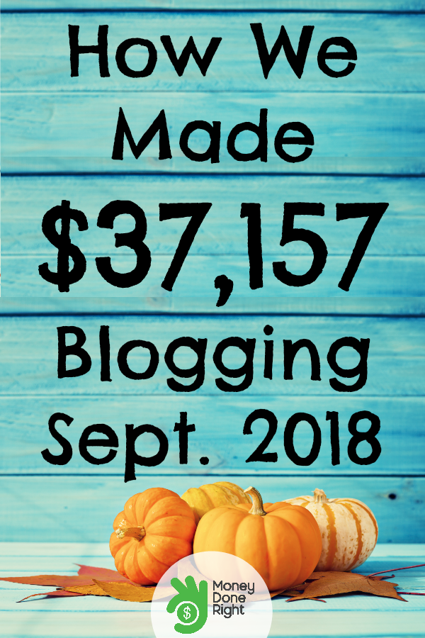 Last month I made $37,157 blogging, and here's how I did it! Yes, you can make money blogging from home! #howtostartablog #makemoneyblogging #waystomakeextramoney #workfromhome