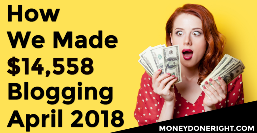 Blogging for Money April 2018 Online Income Report