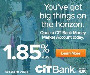 CIT Bank Money Market Account
