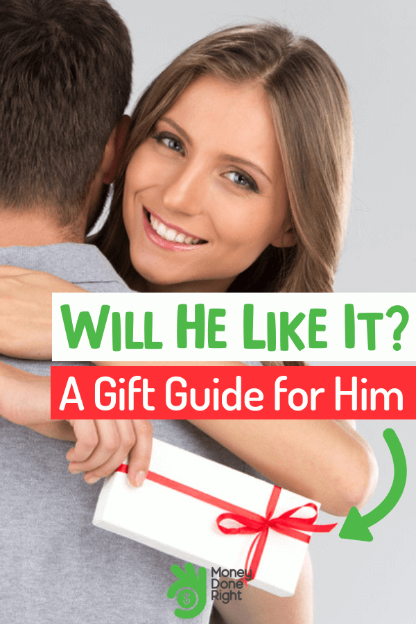 Are you looking for a reasonably priced gift for him that he would love? Then this guide will help you do just that. #giftforhim #reasonableprice