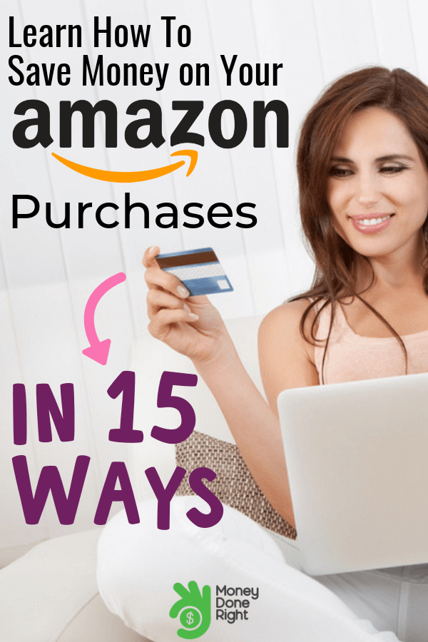 Did you know that you can save money on Amazon? Read on about these 15 hacks to save money on your next Amazon purchases. #amazonhacks #savemoneyonamazon