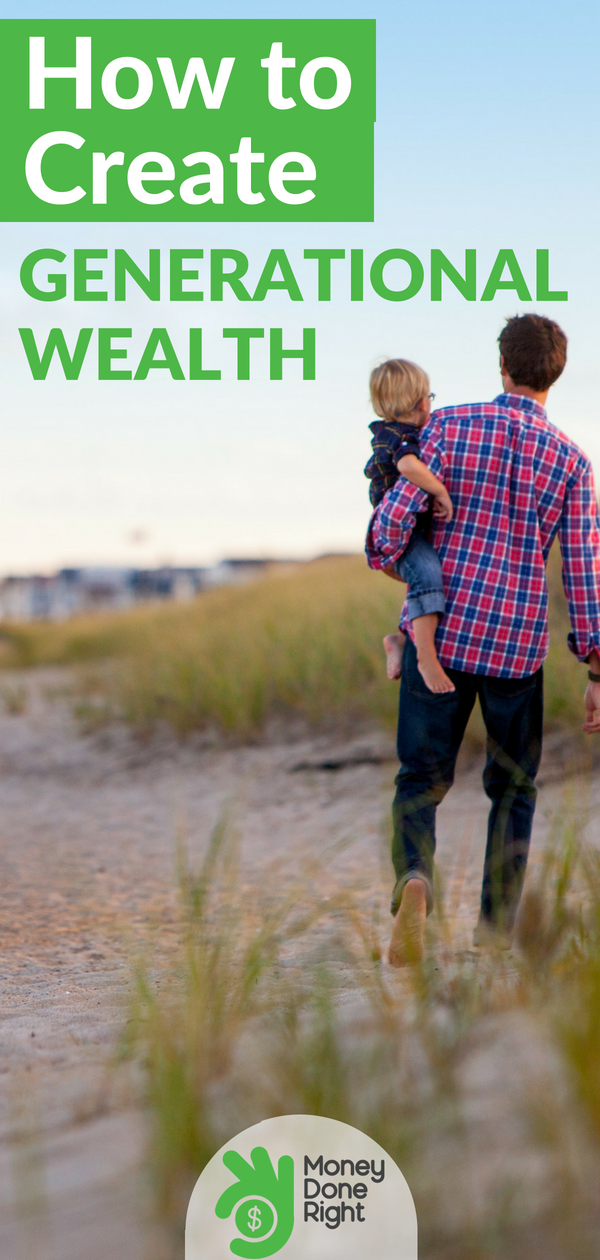 What is generational wealth and how can you build it for you and your family? Here's what you need to know. | #assets #wealth #personalfinance