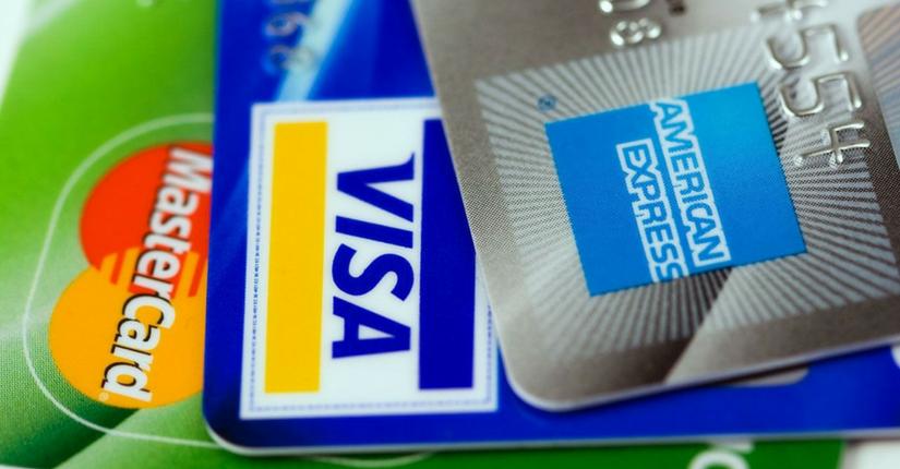 Credit Cards American Express VISA MasterCard