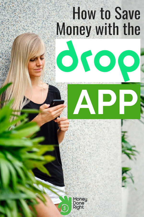 Drop App Review: check out our review of the popular cash back app Drop. Check out our Drop tips and see how you can get cash back on groceries, clothes, and more. #DropApp #CashBack
