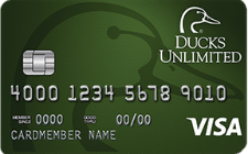 Ducks Unlimited Rewards Visa Card