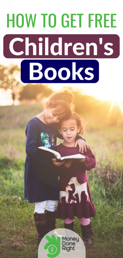 Getting free children's books is easier than you might realize. Since books can have such a huge impact on child development, this is great news for parents. Here's where you can find them! | #FreeChildrensBooks #Free Stuff