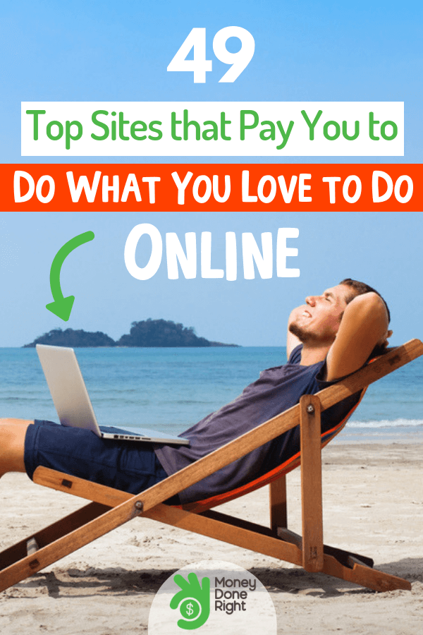 Did you know that there are a ton of ways to earn money online? You can even get paid by simply doing the things you do every day. #tonsofwaystogetmoneyoneline #everydaythingsyoudo
