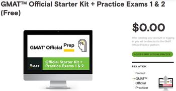 GMAT Official Starter Kit