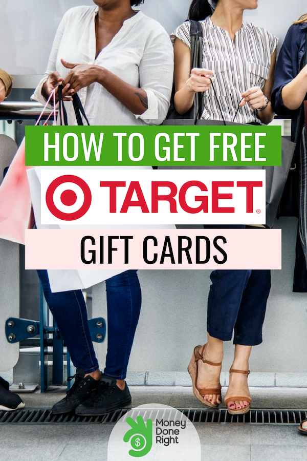 Target gift cards for free! Yes, it's true! Check out this article to learn our tips and tricks to get free Target gift cards. #TargetGiftCards #FreeStuff
