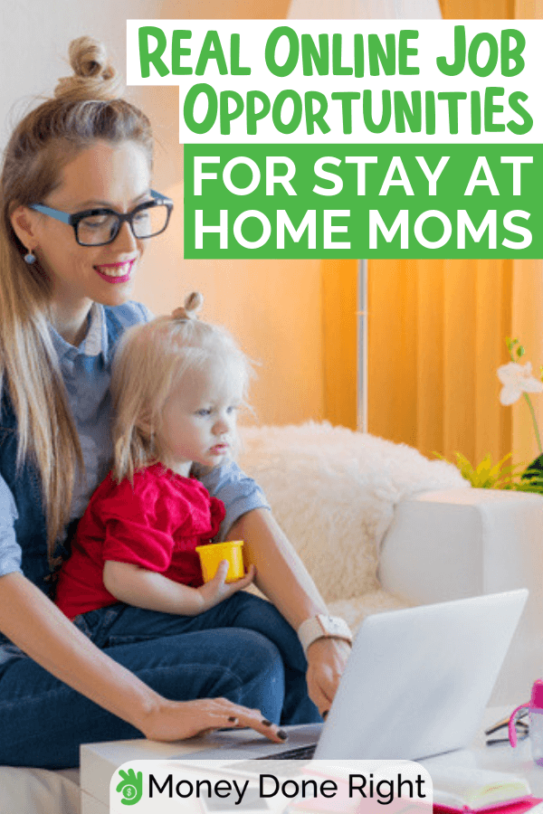 Do you want to earn but still be a full-time mom? Make it possible by learning how to find the perfect job for you. #earnandbeamom #possiblemomjobs