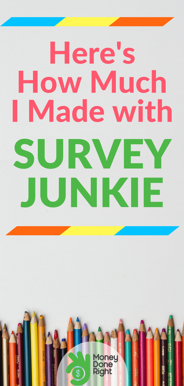 Is this survey site legit or a scam? Surveys are the easiest way to make money online. Here's our review of Survey Junkie! | #surveyjunkie #surveys #getpaid