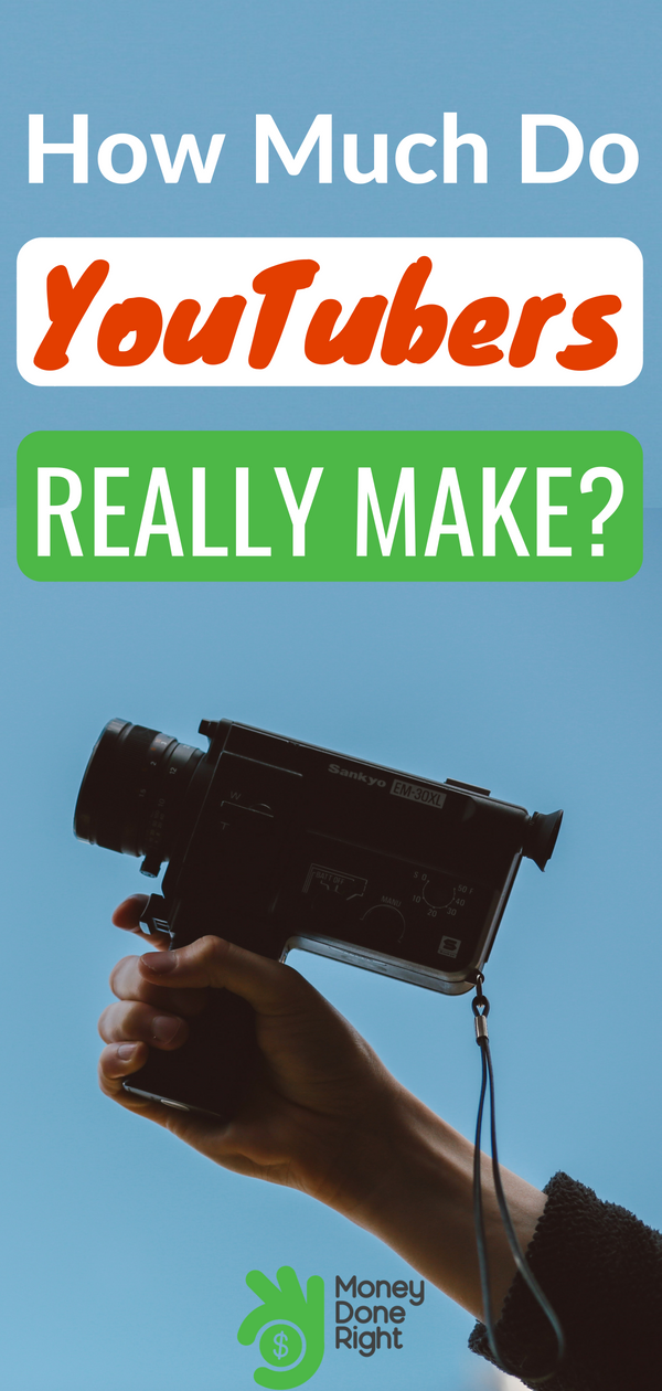 Ever wonder how your favorite YouTubers make money, and how much they make? The answers might surprise you. | #youtubemoney #youtube #finance
