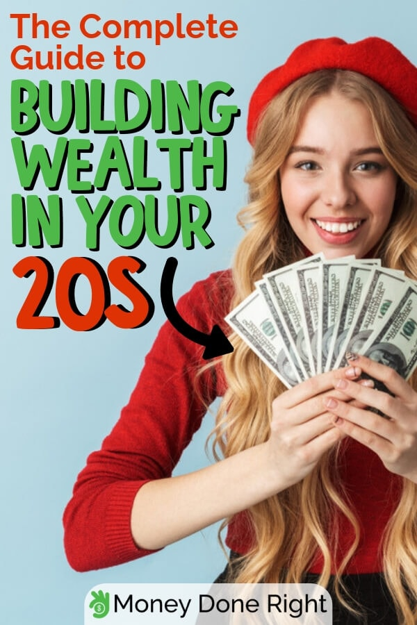Start building your wealth early and thank yourself years from now. Check out this complete guide on how you can build your wealth today. #buildwealth #completewealthguide