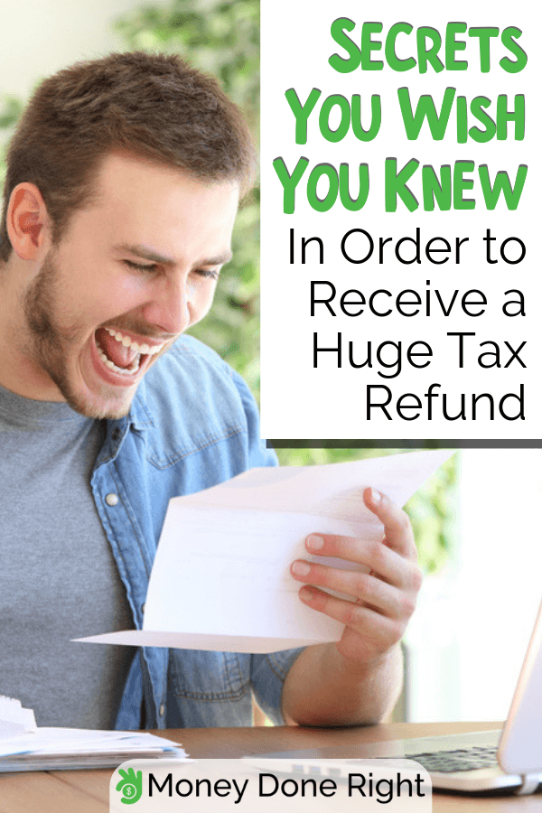 Did you know that you can do something to get the largest tax refund possible? If you want to know more, be surprised how. #largesttaxrefund #taxrefundpossible