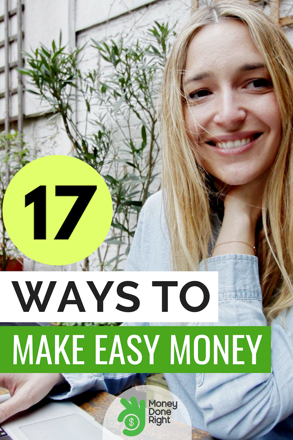 Easy money making ideas are what we give you in this article! Check out our list of ways to make easy money fast . #EasyMoney #MakeMoney