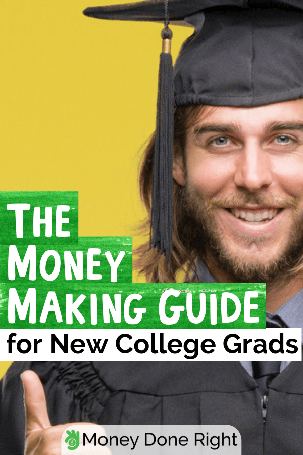 Still not sure what to do after college? Here are essential tips you can follow to immediately make money after college. #whattodoaftercollege #makemoneyaftercollege